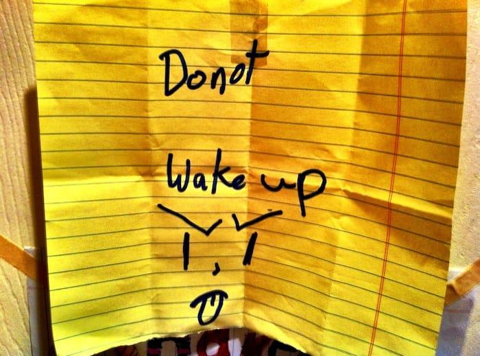 Do not wake up thumbnail
