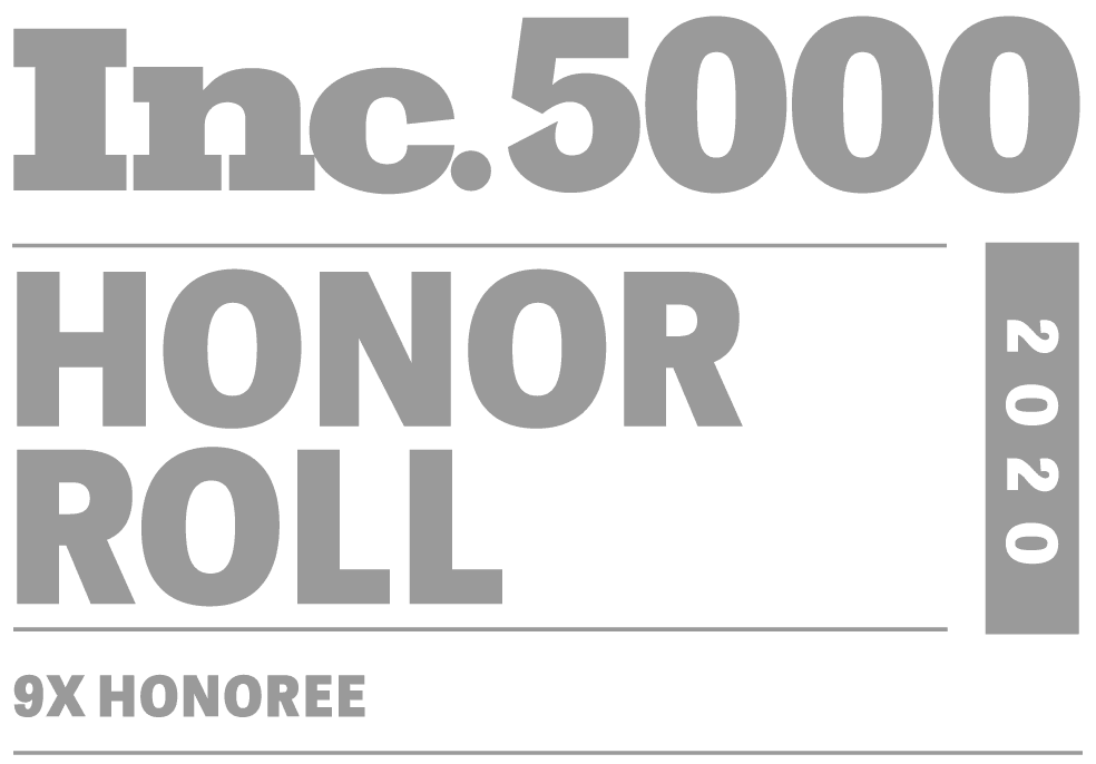 Inc. 5000 Honor Roll - Seven Time Honoree