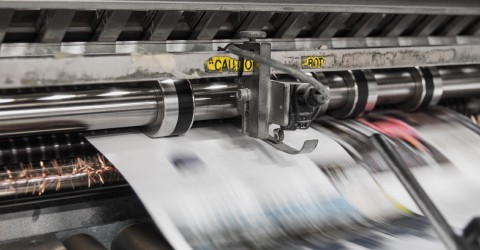 A modern printing press