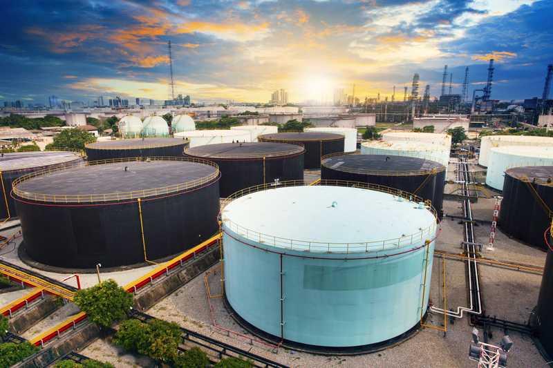 Refinery Storage Tank