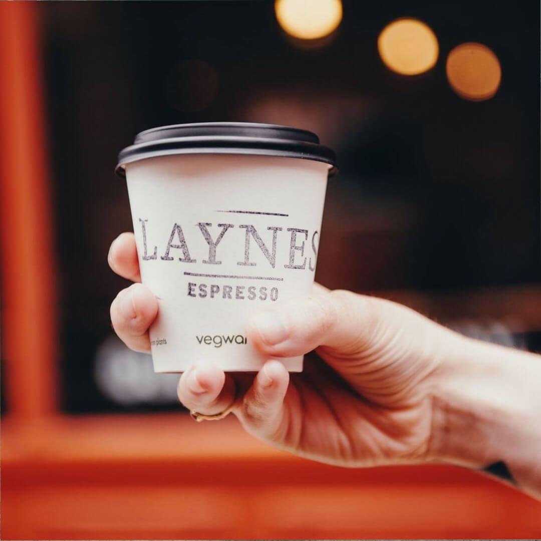 Laynes Espresso take away coffee