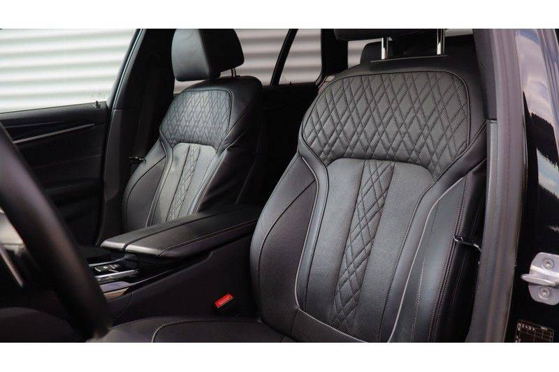 BMW 5 Serie Touring M550d xDrive High Executive Bowers & Wilkins, Head-Up Display, Soft-Close, Stoelventilatie afbeelding 15