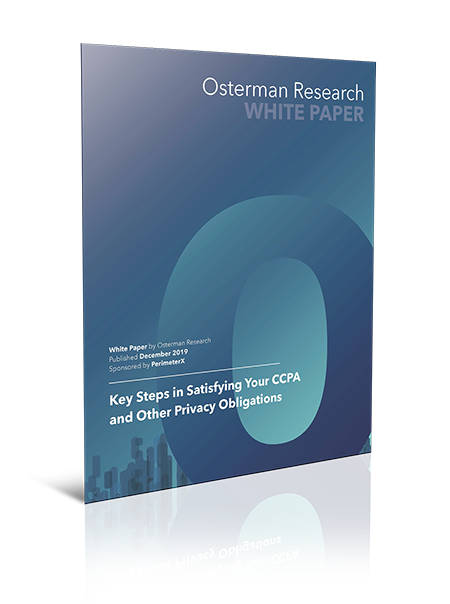 Key Steps in Satisfying Your CCPA and Other Privacy Obligations - Whitepaper