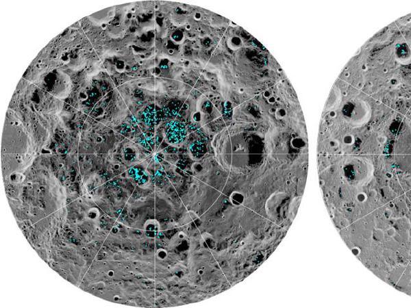 나사, 달에서 물 발견…극지방에 얼음 존재 확인