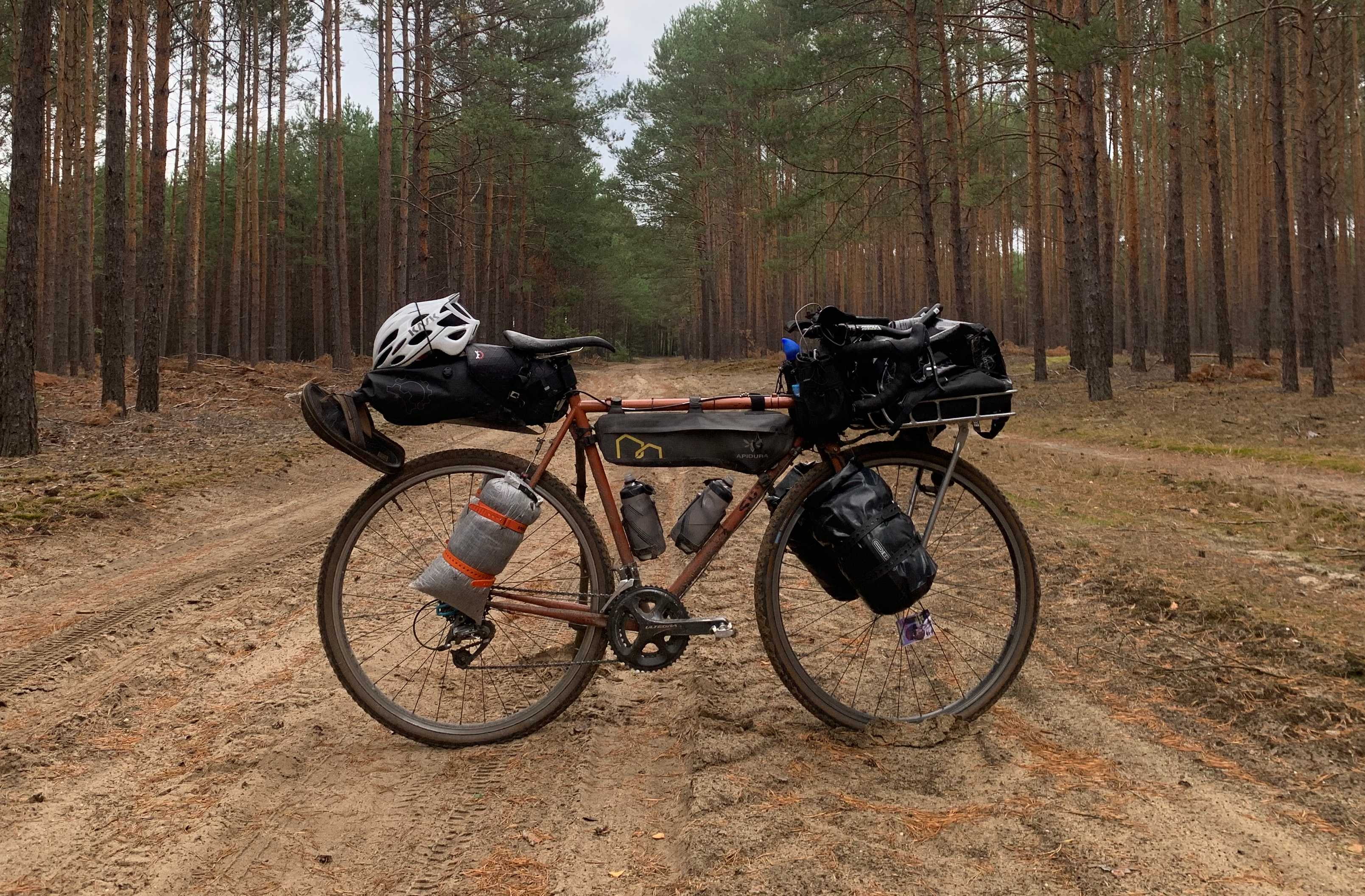 Ultralight Bikepacking with a Laptop