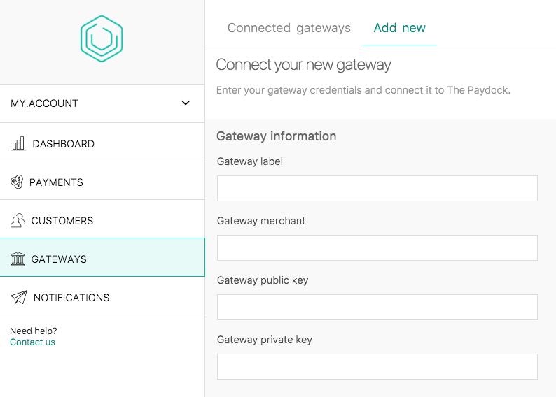 Add Gateway