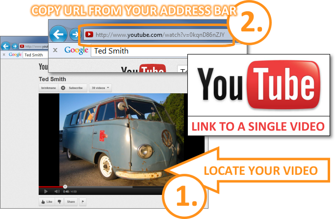 Email Signature - Get YouTube Video URL