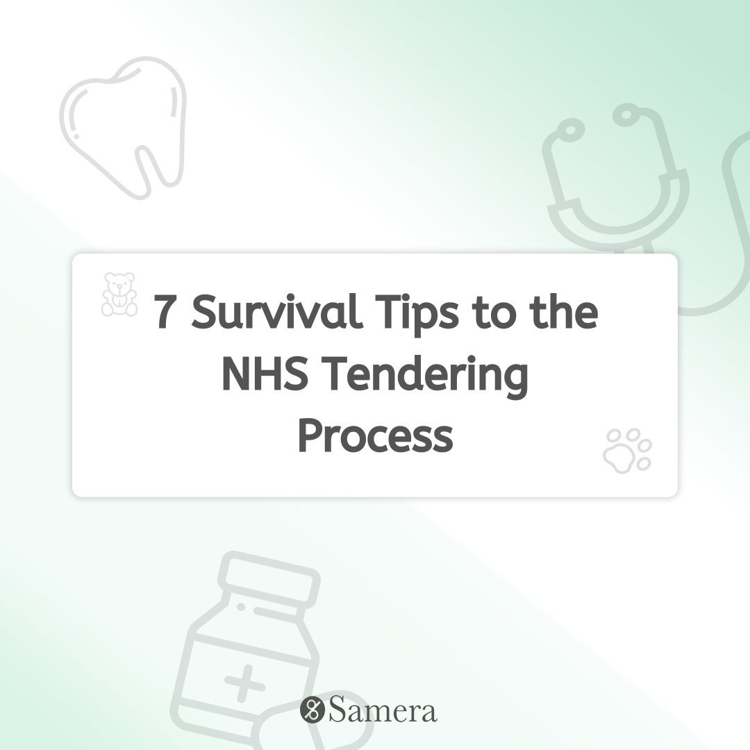 7 Survival Tips to the NHS Tendering Process