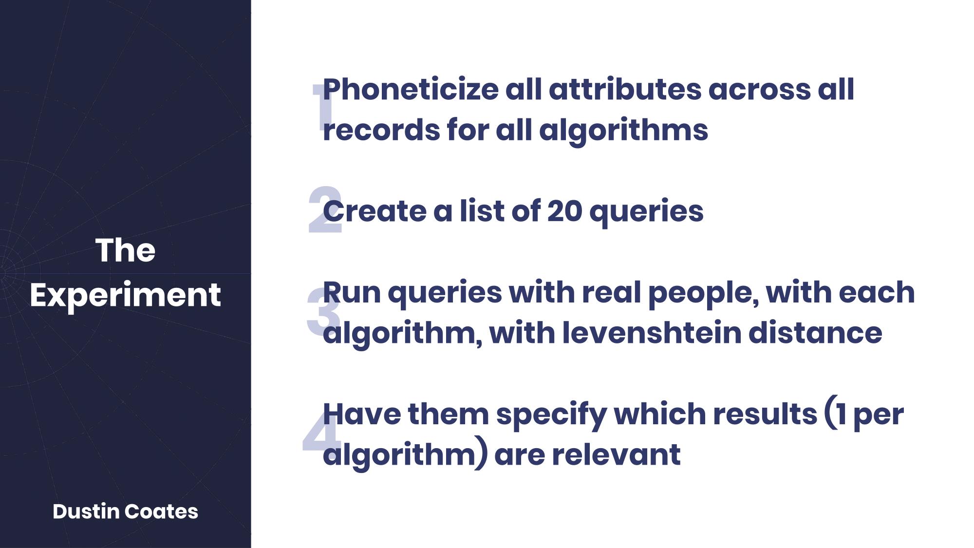 Phonetic matching encoding