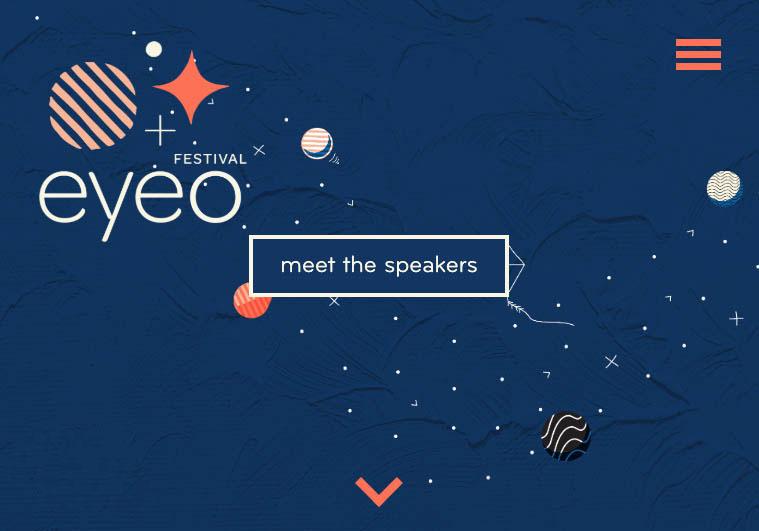 EYEO Festival website screenshot