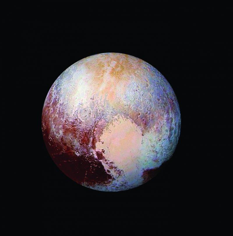 Таким космический аппарат NASA «Новые горизонты» увидел Плутон в2015году. Фото: NASA