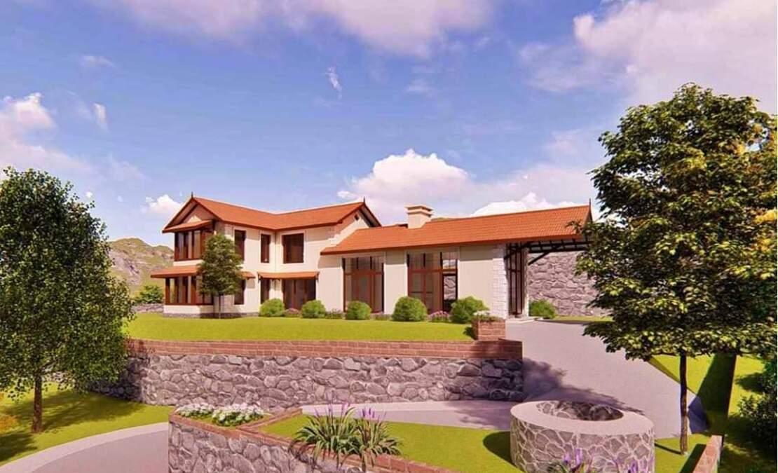 Hillsborough House for sale Elevation render