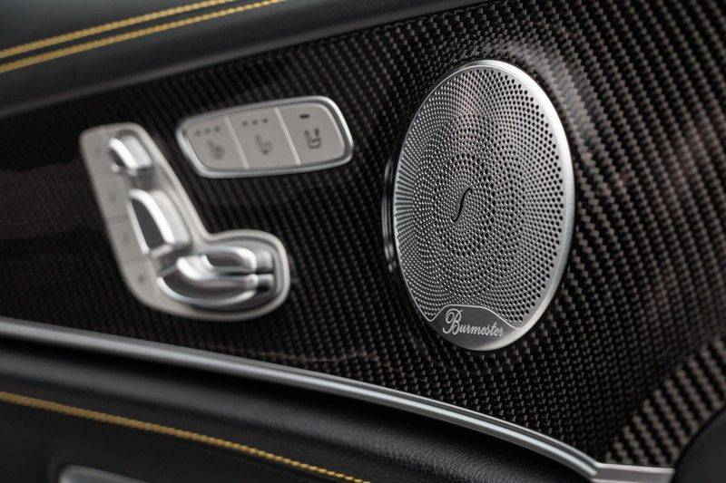 "Mercedes-Benz E-Klasse E63s AMG EDITION 1 4Matic 612pk (MAGNO MAT) Panoramadak Distronic Nightpakket Schaalstoelen Burmester Carbon ComandOnline Keyless 20"" Parktronic Pdc afbeelding 16"