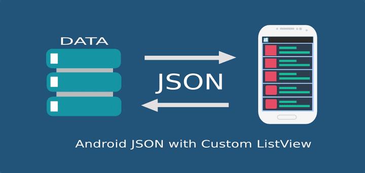 ตัวอย่างการทำ ListView อ่านข้อมูล JSON ด้วย GSon