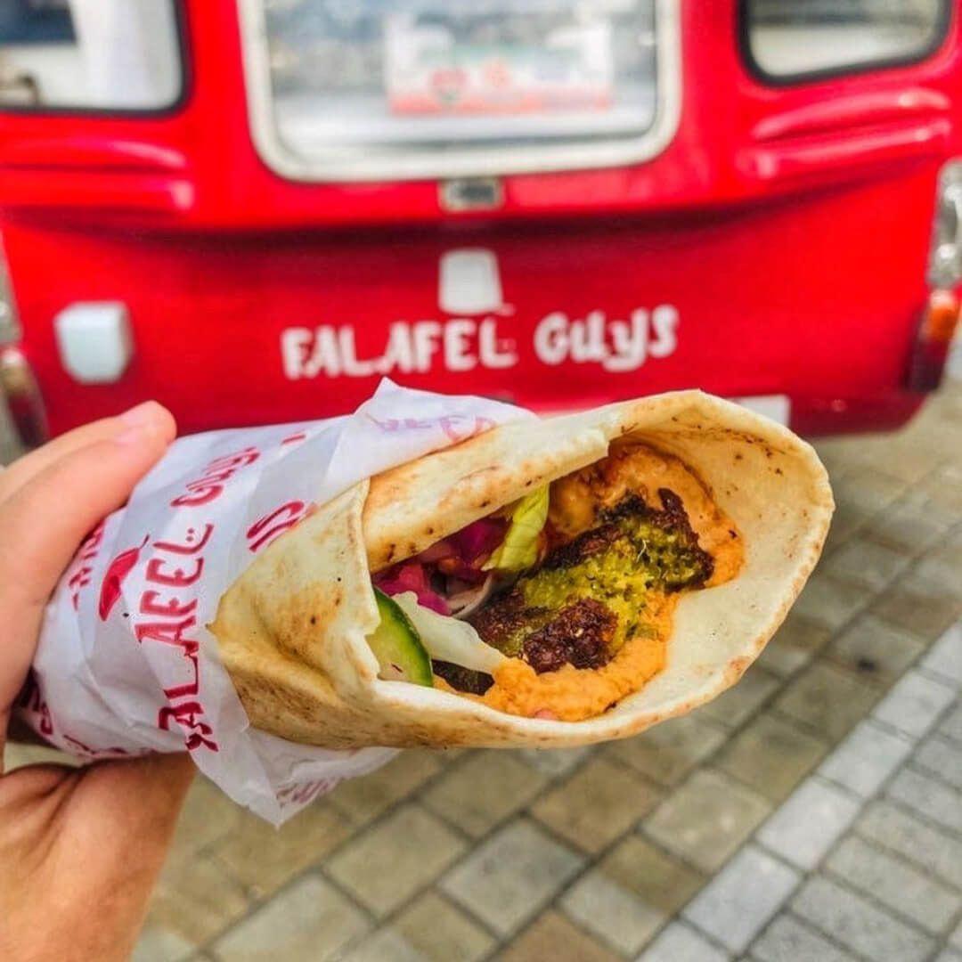 Falafel Guys Wrap by Van Briggate