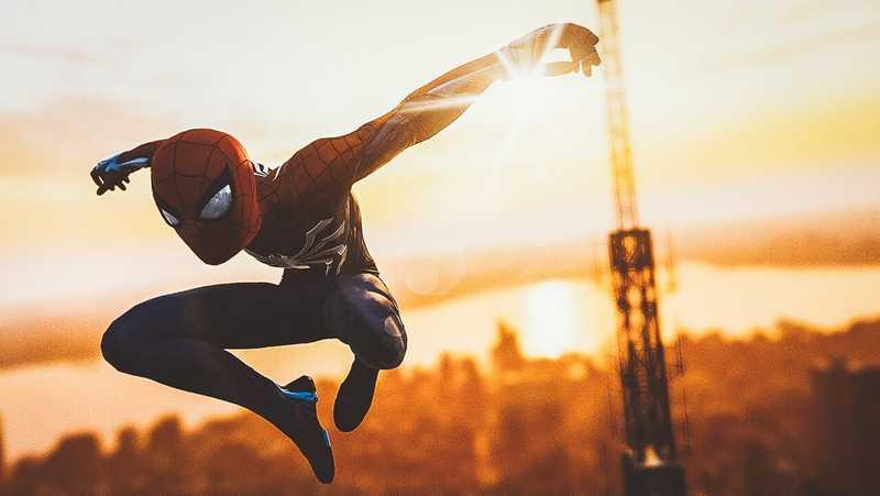 Marvel's Spider-Man で遊んだ