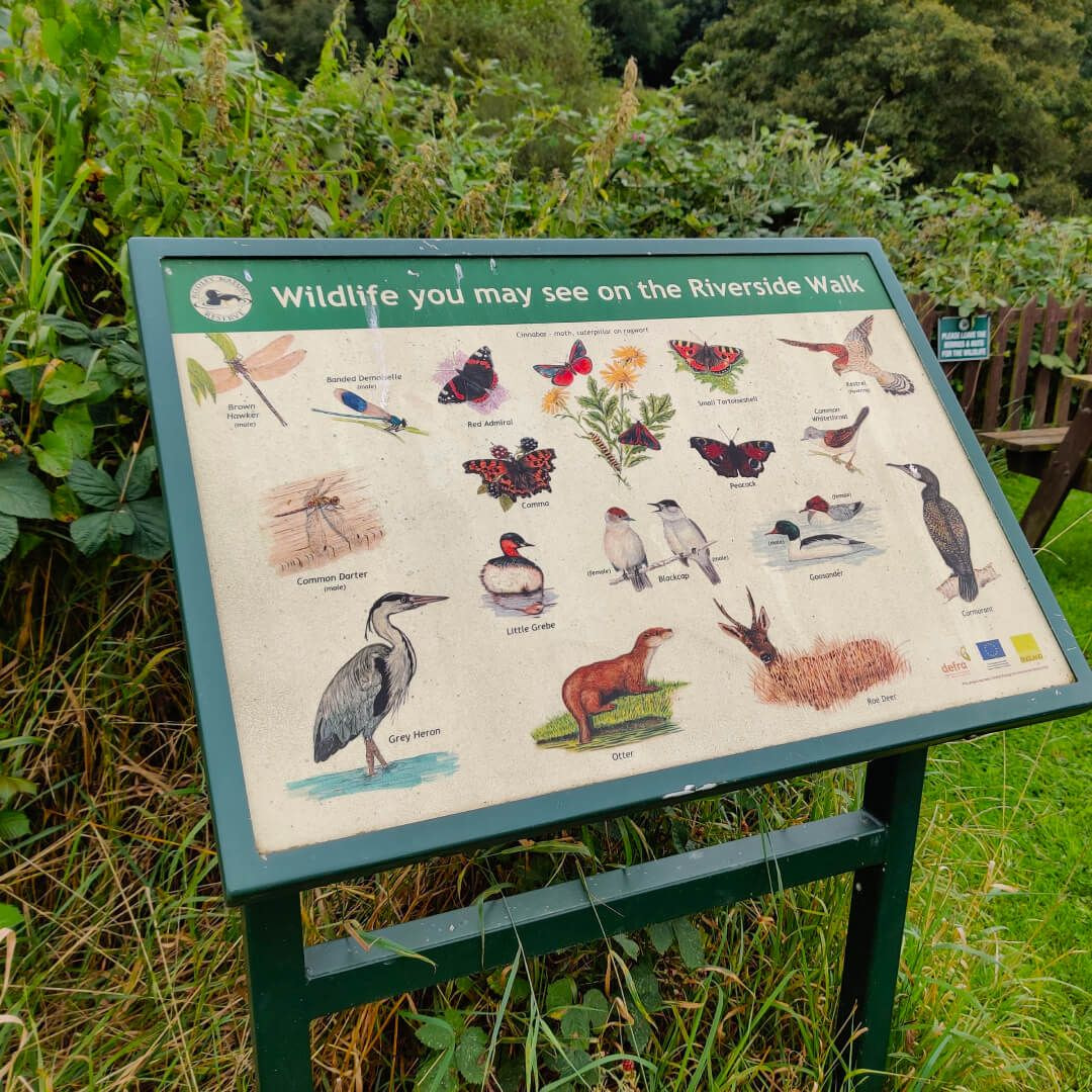 Rodley Nature Reserve sign