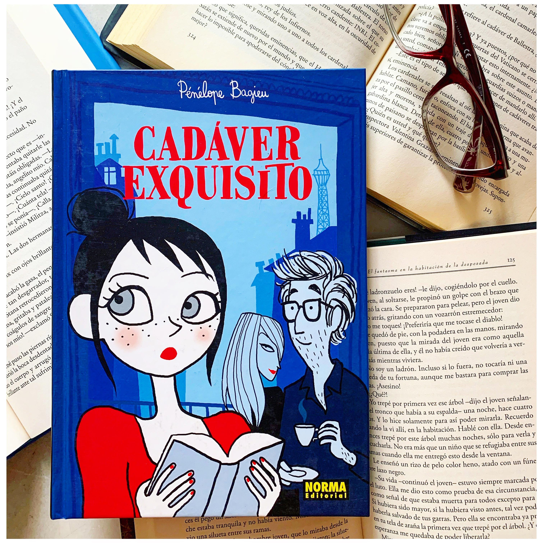 """Imagen de Reseña de """"Cadáver exquisito"""", de Pénélope Bagieu."""