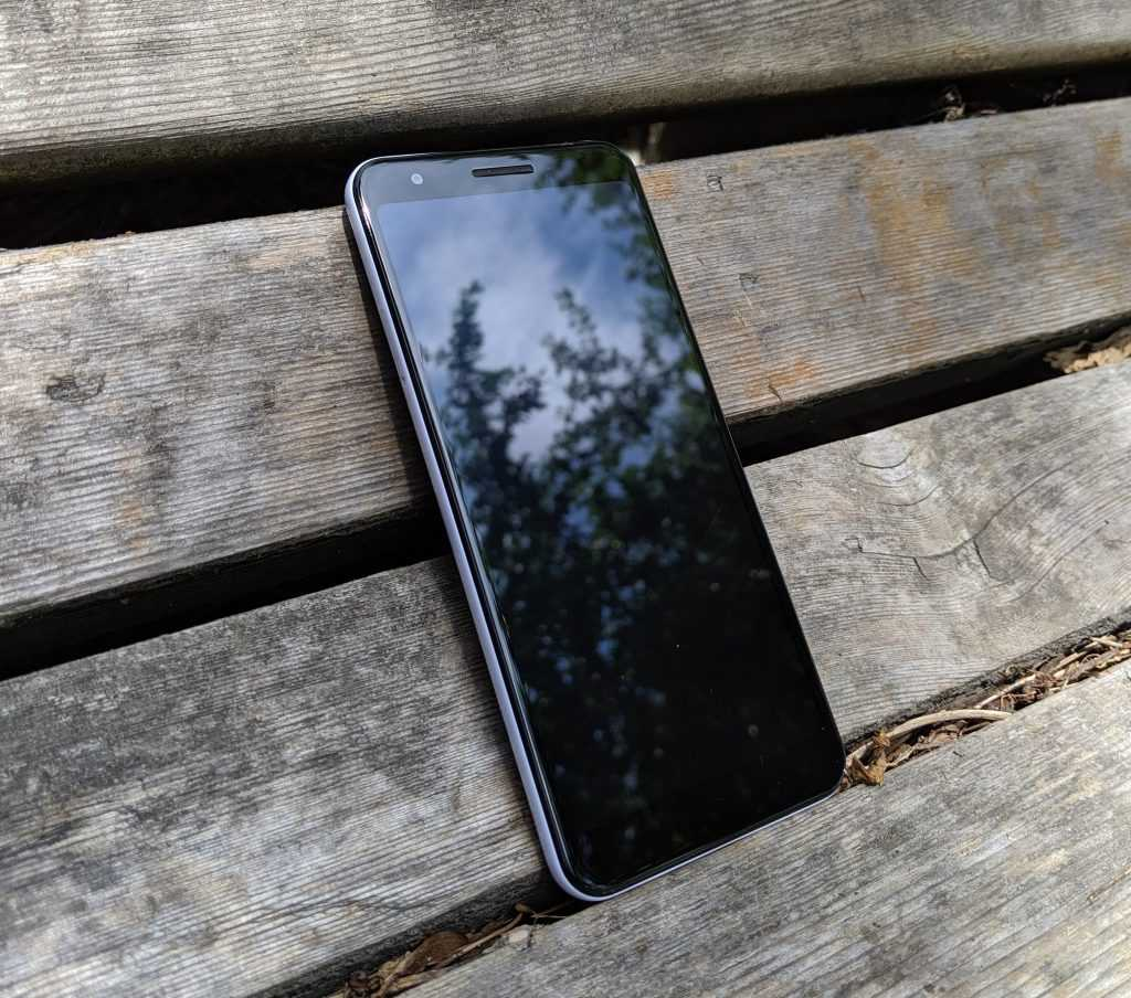 Pixel 3A with the screen off