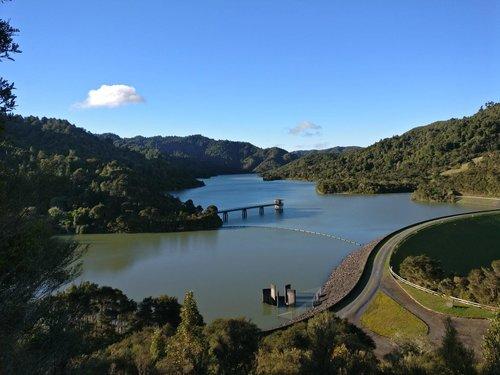 Wairoa Reservoir lookout