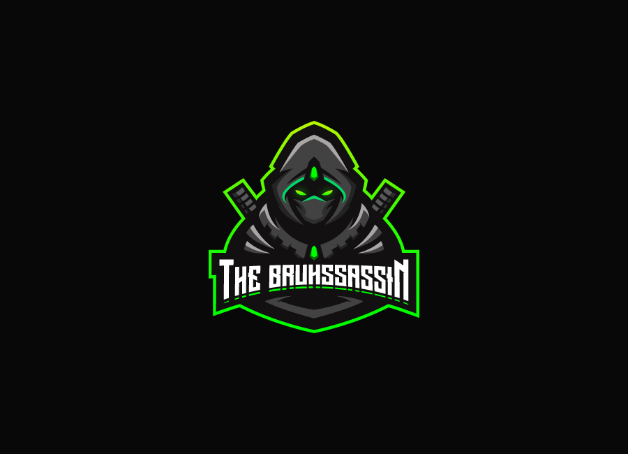 The Bruhssassin logo