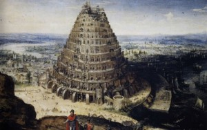 Tower of Babel, by Lucas van Valckenborch, 1595