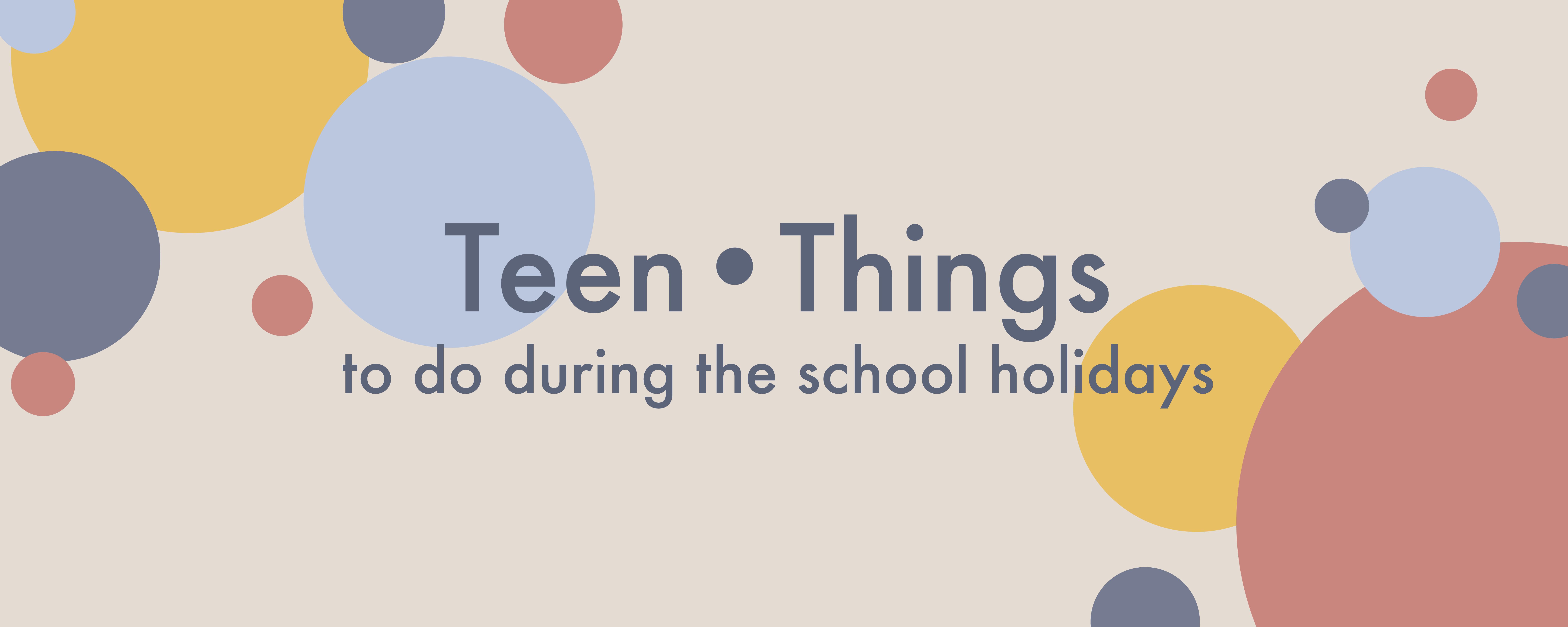 Teen Things header