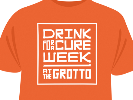 The Grotto Drink for a cure