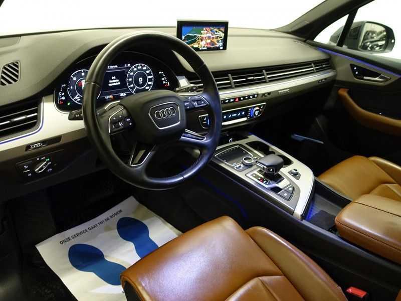 Audi Q7 3.0 TDI e-tron 374pk Quattro [S-Line] Aut- Leer, Virtual Cockpit, 360 Camera, Xenon afbeelding 24