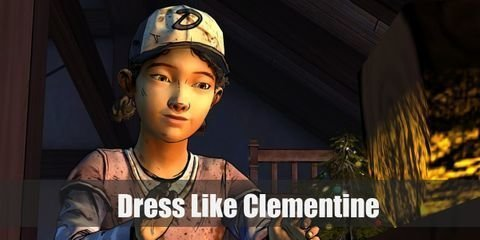 Her maturity and skills may surpass her age, but Clementine still dresses like a kid who has a preference for the color purple. Here's everything you need to look like Clementine