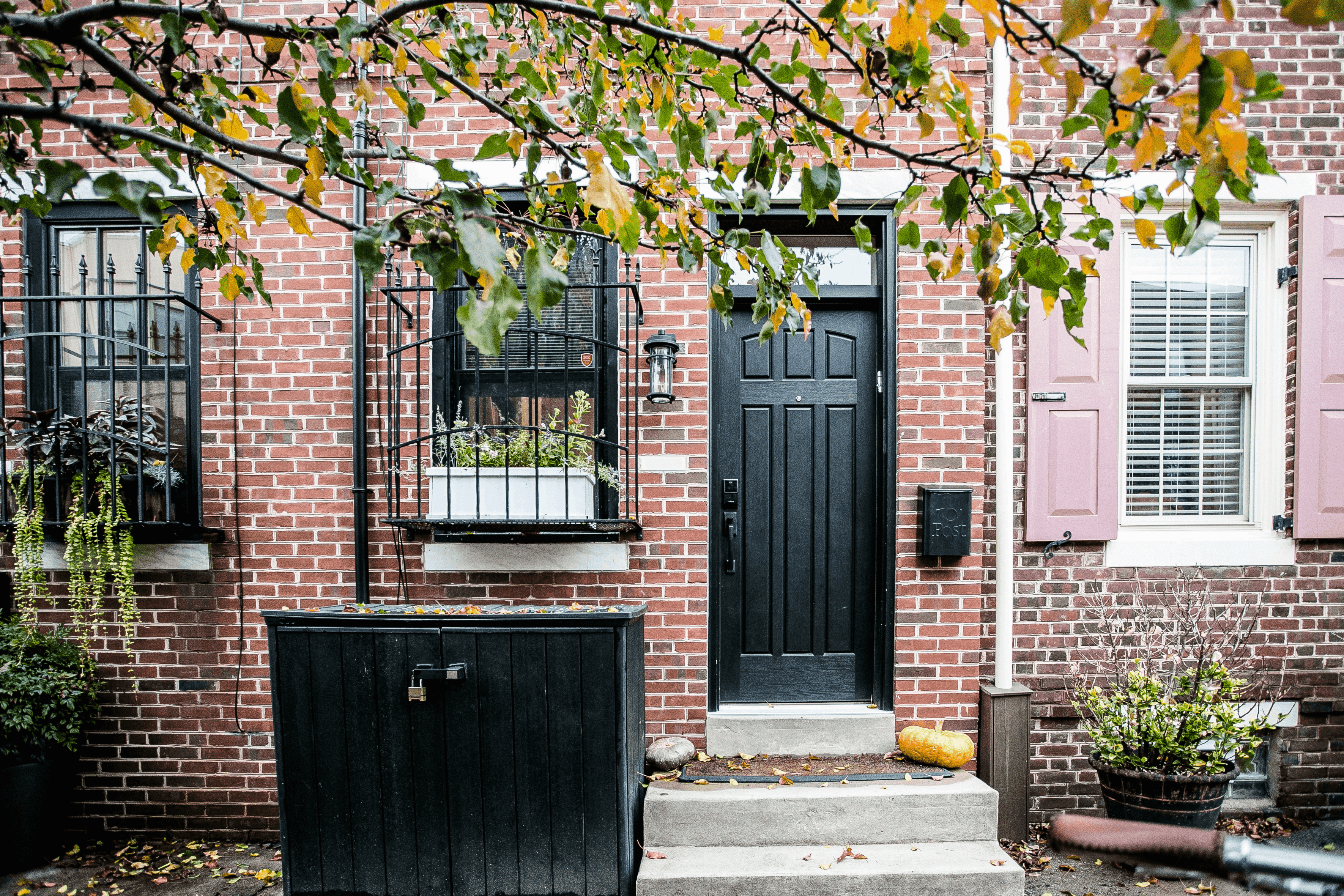 after exterior of home