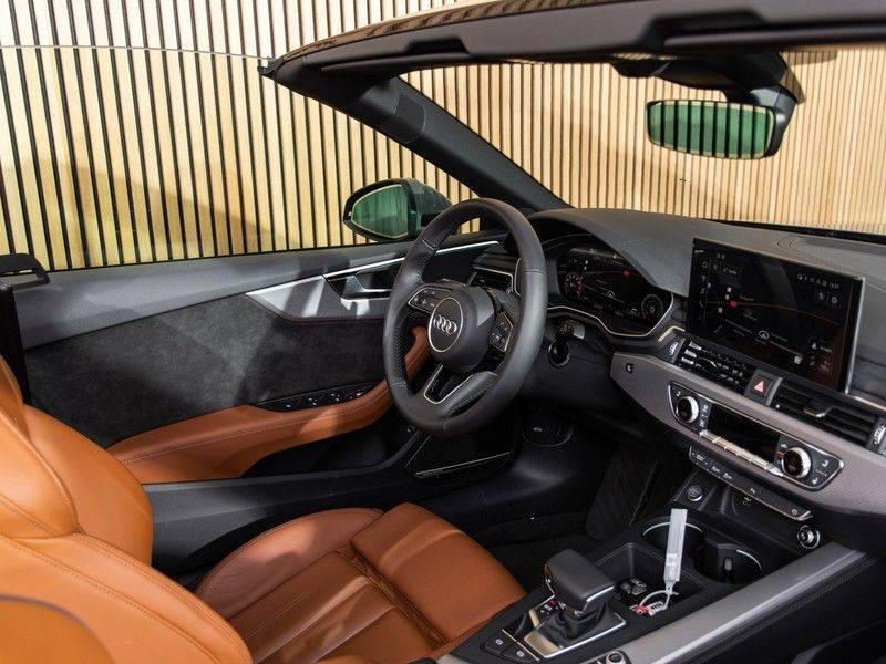 Audi A5 Cabriolet 40 TFSI Aut. S-LINE afbeelding 16