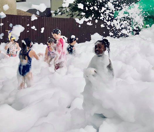 kid foam party
