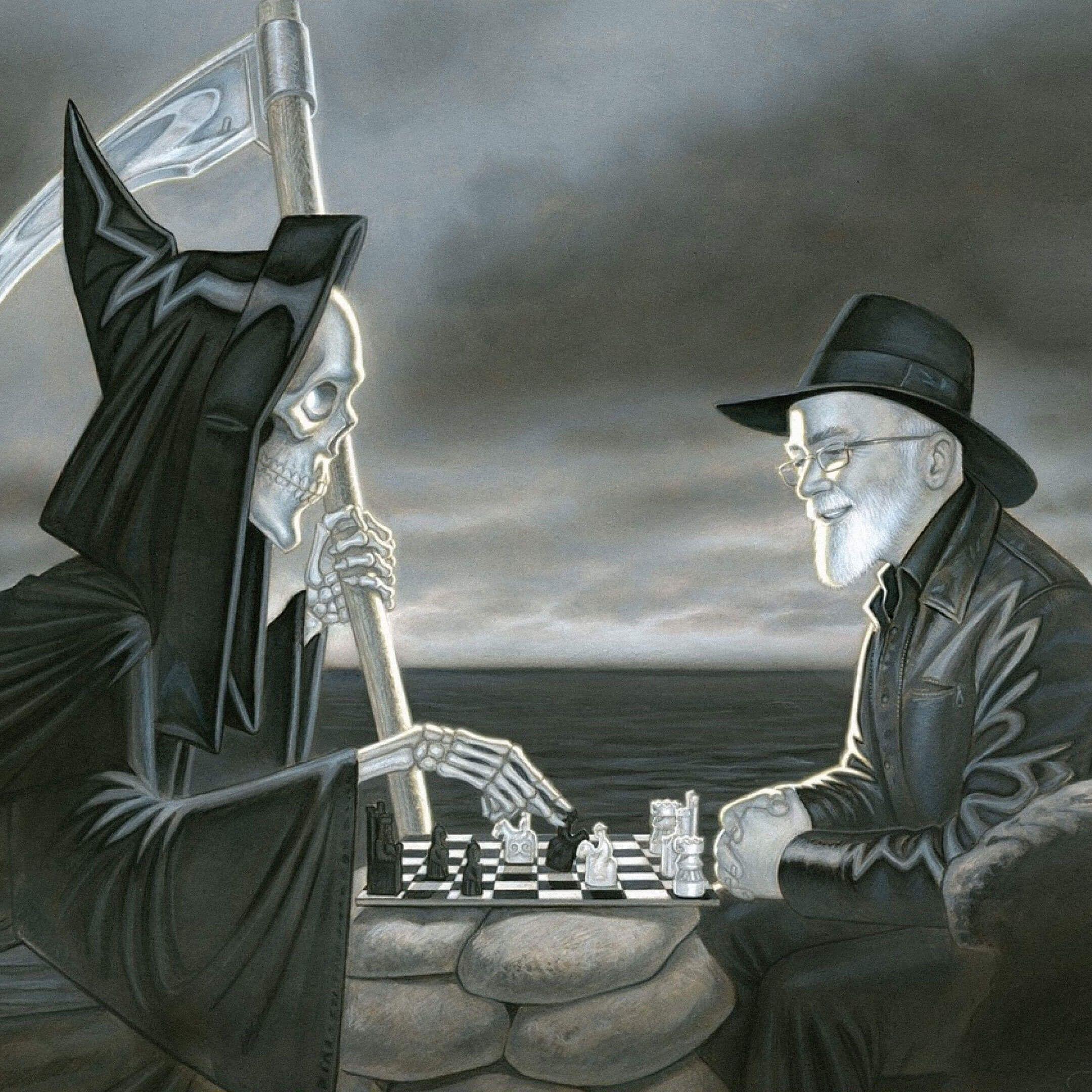 Иллюстрация собложки книги «Опечатки» Терри Пратчетта