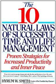 10 Natural Laws of Successful Time and Life Management Cover