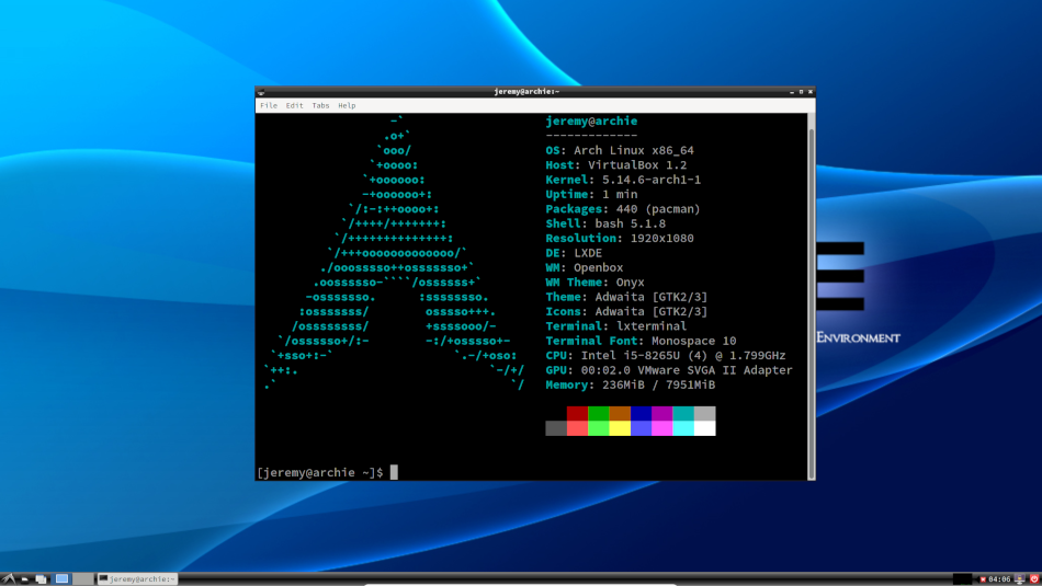 How to install Linux with Arch Linux installer
