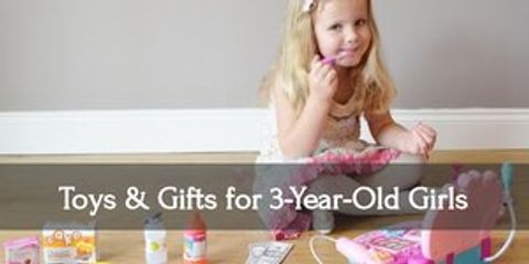 Make your three year old girl's day with this awesome gifts!!