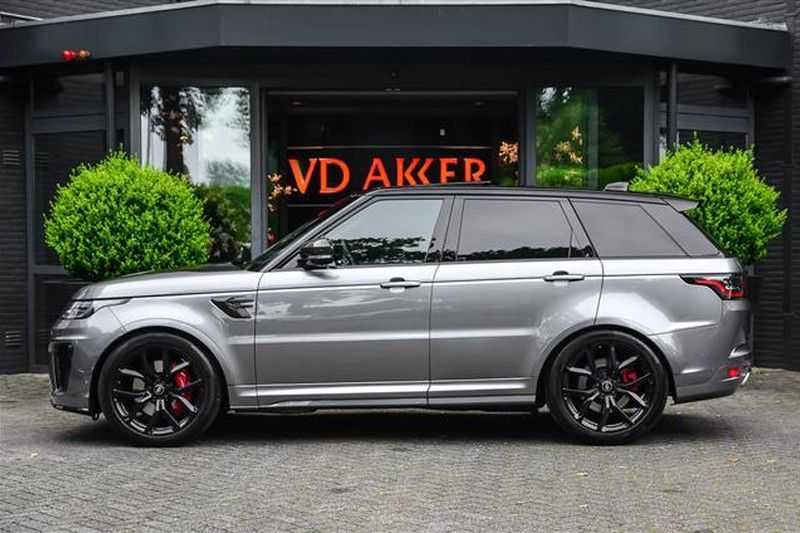Land Rover Range Rover Sport 5.0 SVR CARBON+PANO.DAK+ACC+HEADUP NP.250K afbeelding 8