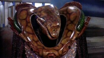 An image of a Vorlon from Babylon 5