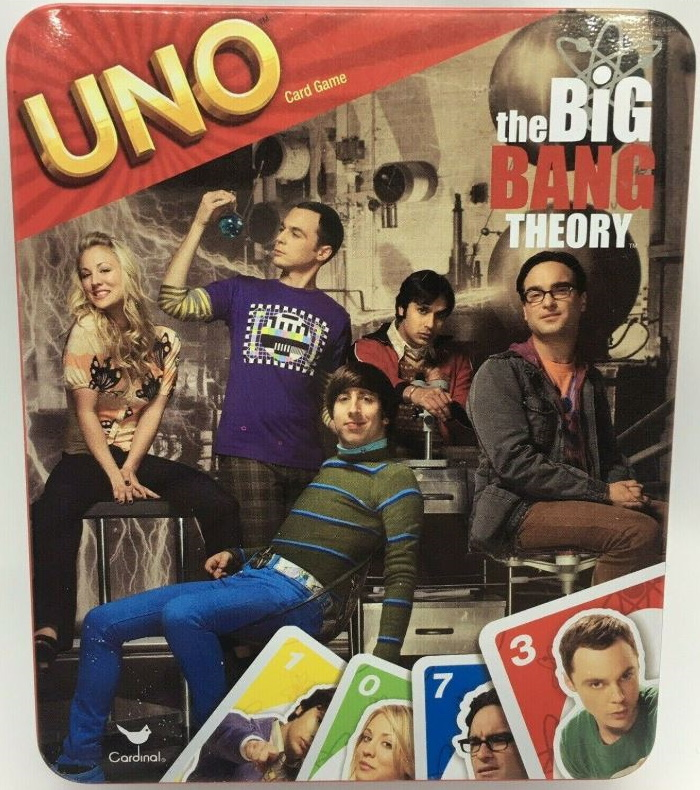 Big Bang Theory Uno