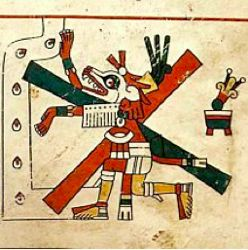 Xólotl, Fejervani-Mayer Codex.