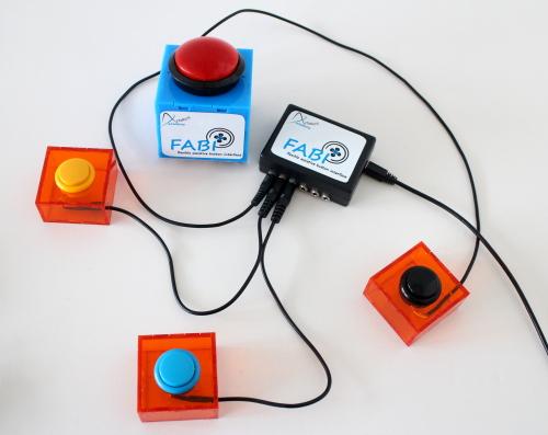 FABI (Flexible Assistive Button Interface)