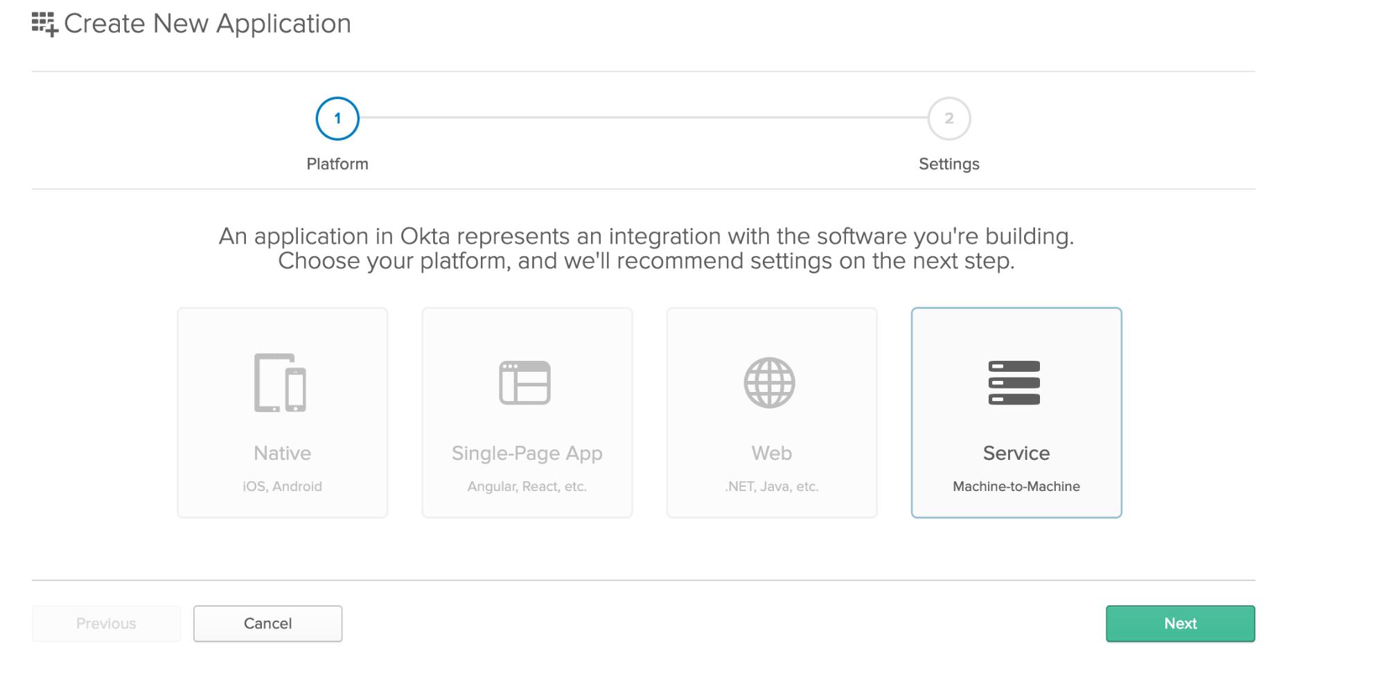 Okta Chose Platform