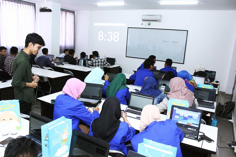 Workshop at Tegal, Jawa Tengah