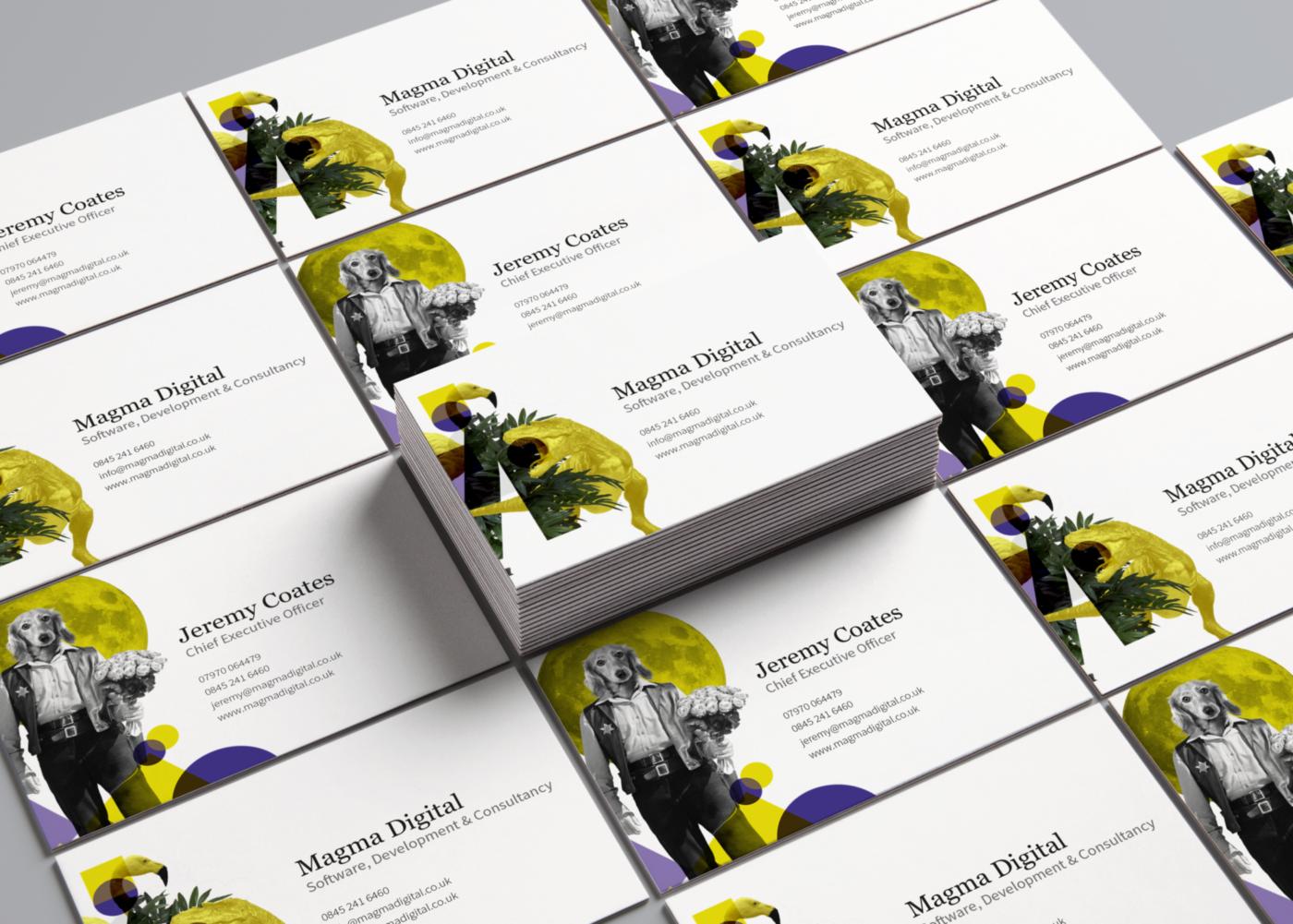 Magma Digital - Business Cards