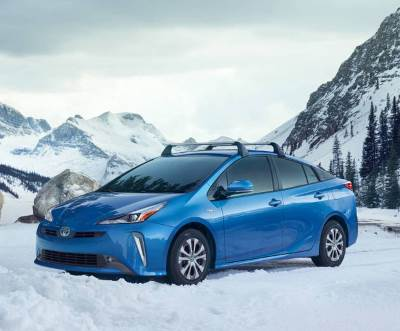 Toyota Prius AWD-e hybrid promotional picture