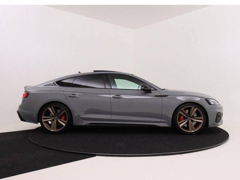 Audi RS5 Sportback 2.9 TFSI quattro | 450PK | Panoramadak | Stoelventilatie/verwarming | Bang & Olufsen | Top view camera | Matrix LED Laser | RS Sportuitlaat | 20'' inch brons | Verlengde fabrieksgarantie afbeelding 4