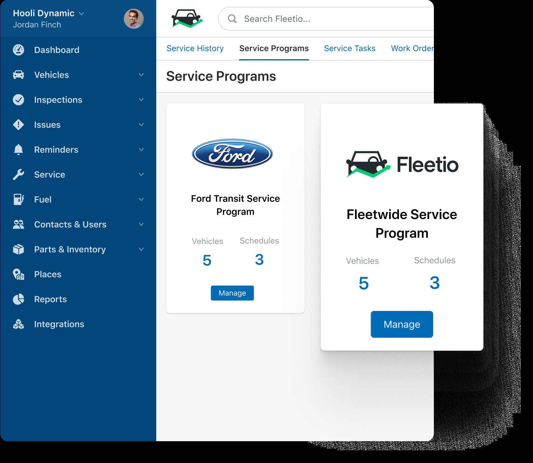 service programs visual