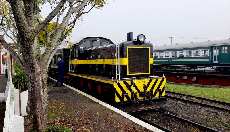 Bay of Islands Vintage Rail train