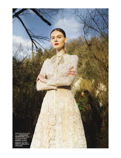 Elisabetta Cavatorta Stylist - L'Officiel Middle East
